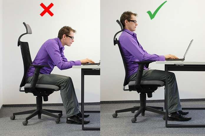 you need to change that posture