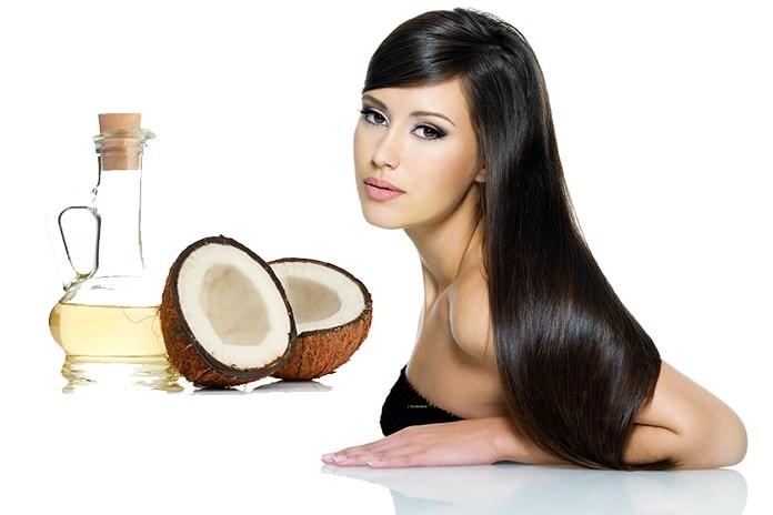 Usted puede utilizar el aceite de coco en la cara, el cabello y la piel?