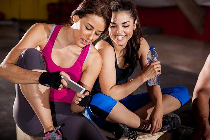 gym buddies are best buddies ever