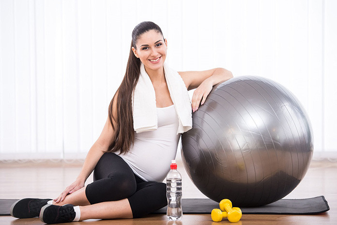 A Gym guide for a pregnant woman