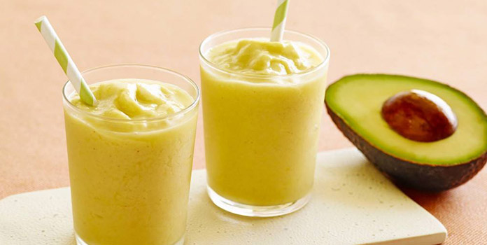 Mango-Avocado Smoothie Surprise for weight lose
