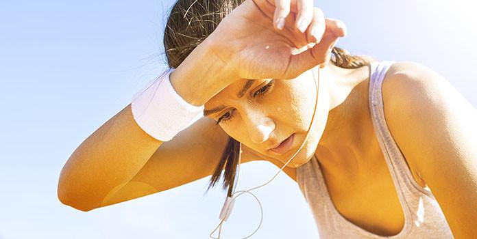 Running helps burn calories