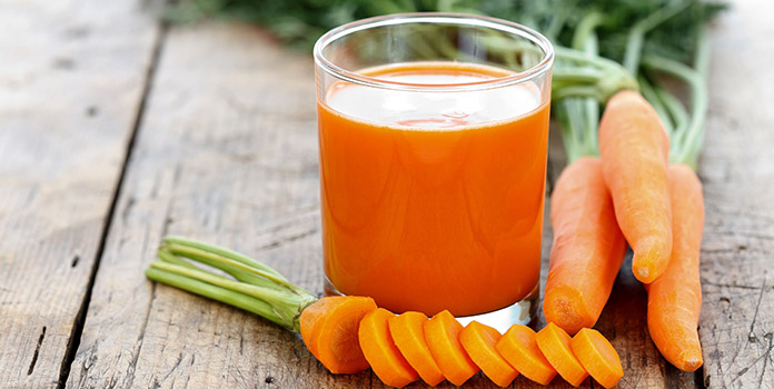 Tasty Carrot Smoothie for weight lose