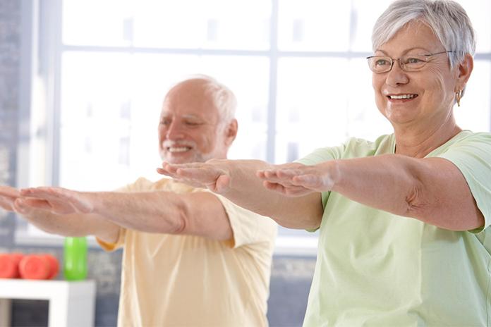 Комплекс упражнений для людей пожилого возраста - YouTube
