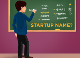 how to name a startup