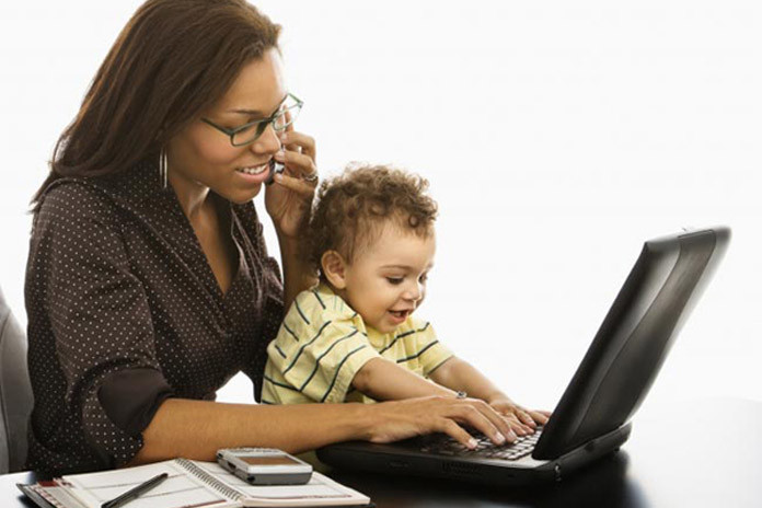 kids of working mom