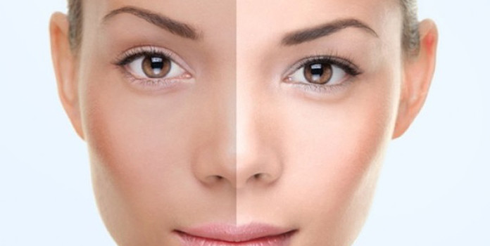 A skin brightening scrub- aloe vera DIY Solution