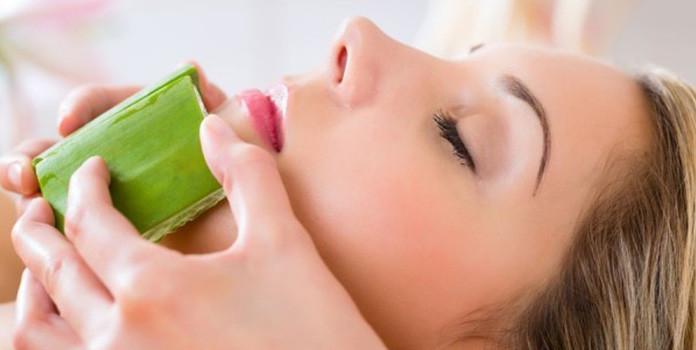 Acne Reduction by aloe vera