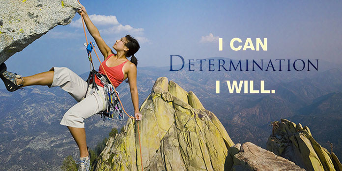 Be Determined to Achieve Success
