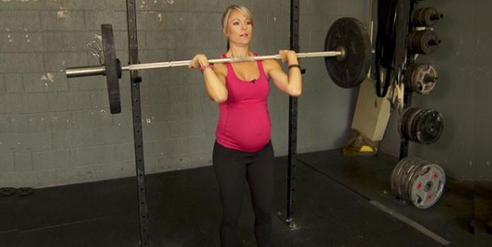 ligting weights during pregnancy