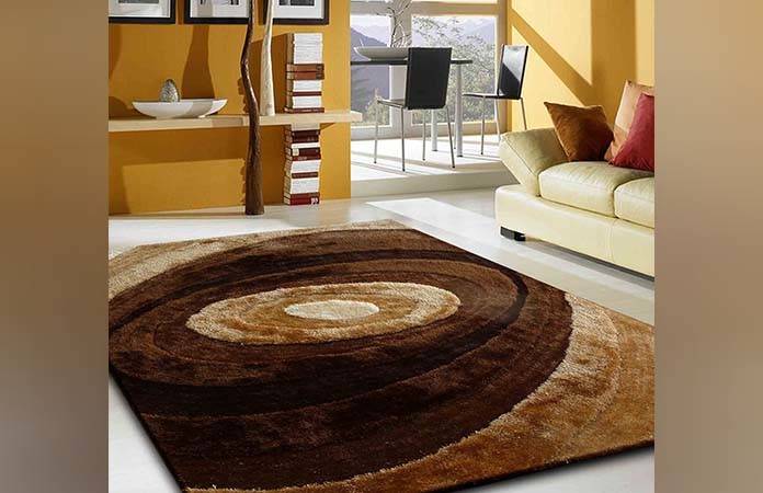 Brown Hand Tufted Rug