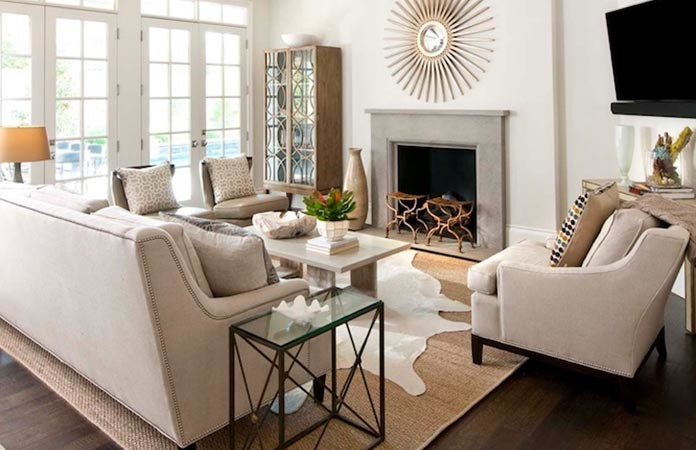 Sisal Rugs Work Best For Minimalistic Dcor Settings Or Smaller Living Rooms You Dont Have To Make Much Effort In Such A Case As Simply Contrasting