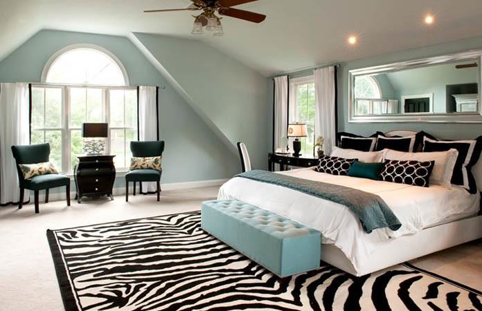 Zebra Pattern Rug