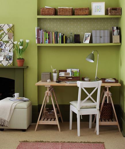 A Corner for a Workstation