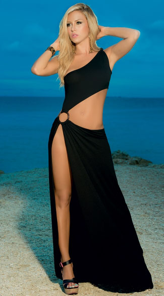Asymmetrical Sexed up Beach Dress