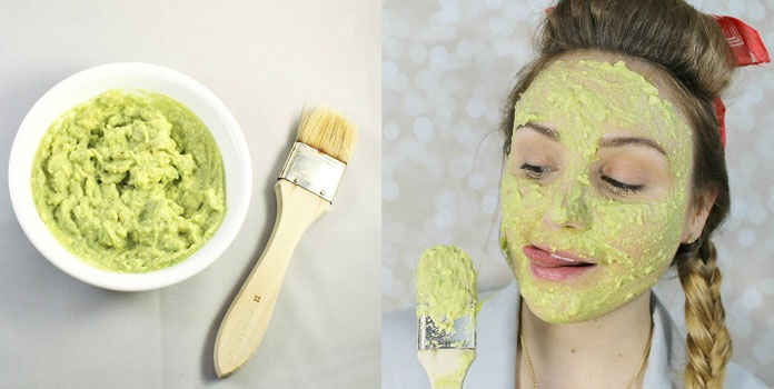 Avocado Homemade Face Mask