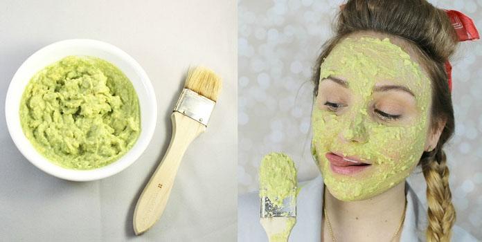 Avocado Homemade Face Mask