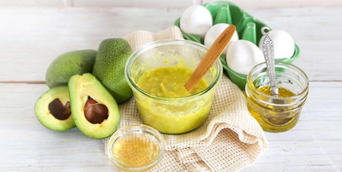 Avocado Oatmeal and Olive Oil Hair Treatment