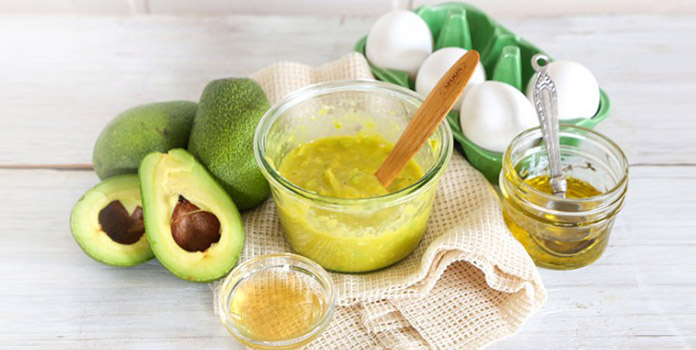 Image result for avocado for hair