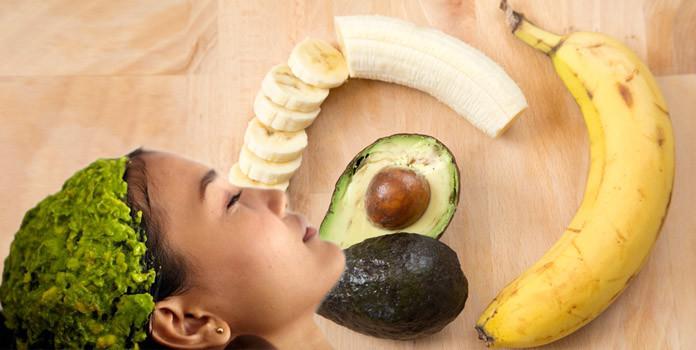 Avocado and Banana Hair Mask
