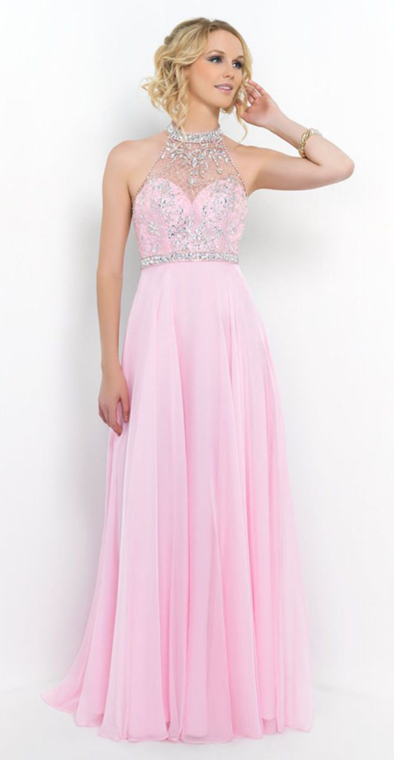 9 Dazzling Pink Prom Dresses To Try