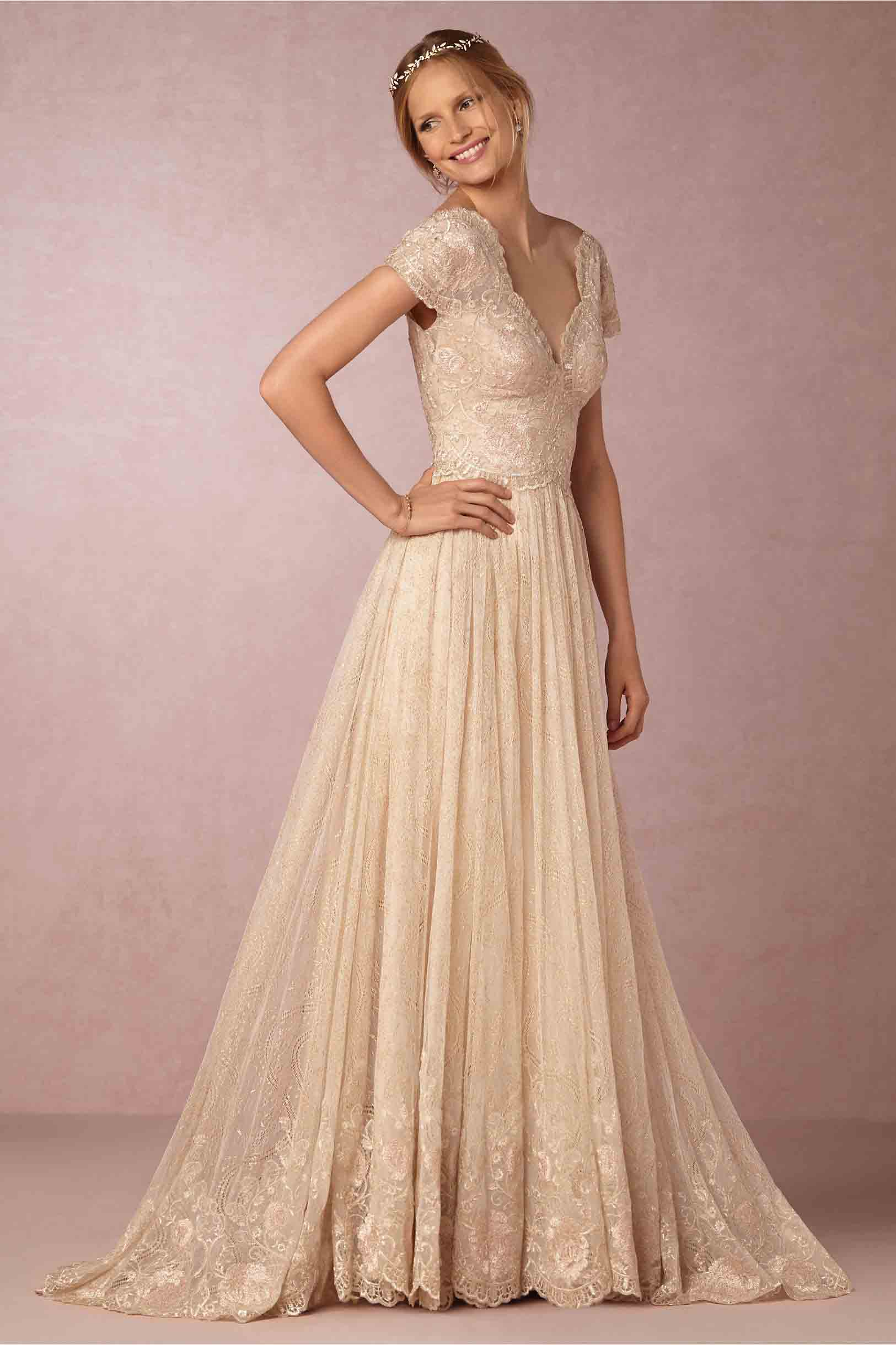 Classic Sleeved Wedding Gown
