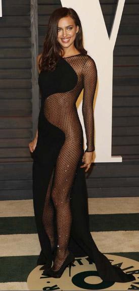 Daring Black Mesh Outfit