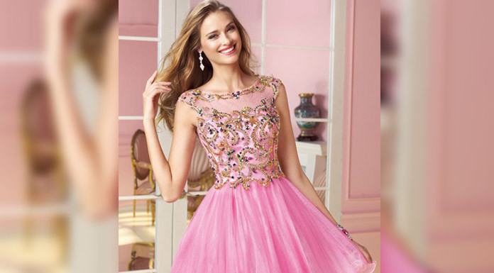 Dazzling Pink Prom Dresses To Try