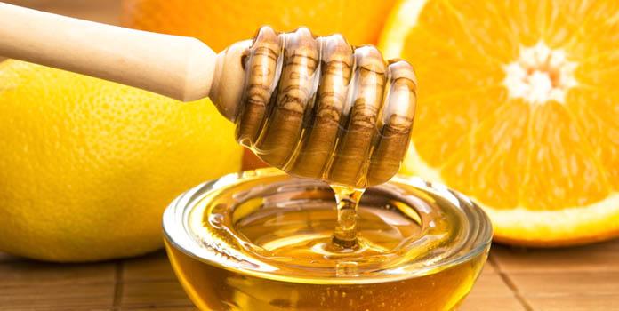 Homemade Face Mask Using Honey & Orange Juice