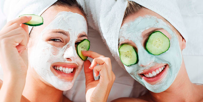 Homemade Face Mask with Cucumber