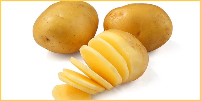 Homemade Face Mask with Potato