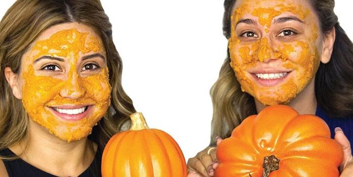 Homemade Face Mask with Pumpkin