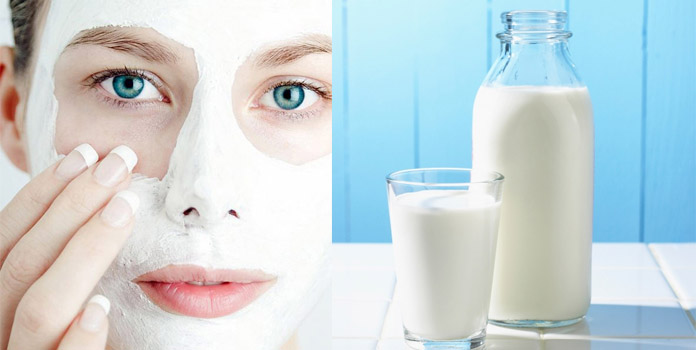 Homemade Facial Mask with Milk