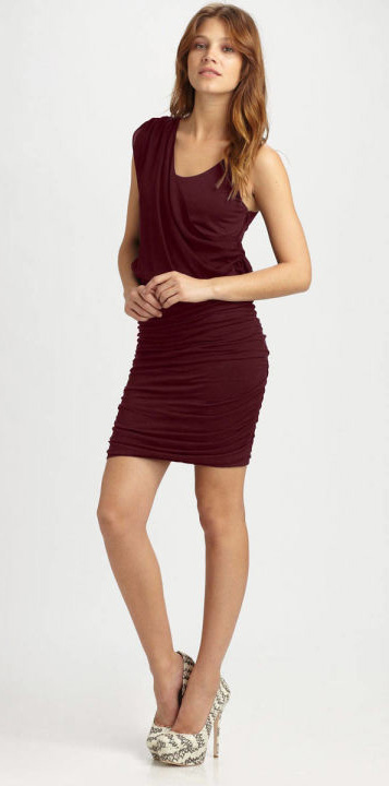 How About Donning a Beautiful Draped Tank Dress