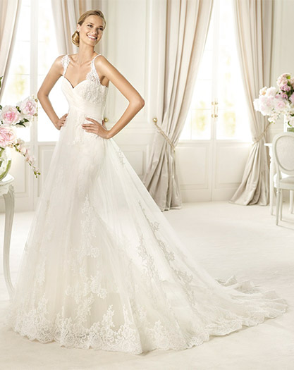 Mermaid Chapel Train Sweetheart Neckline Gown