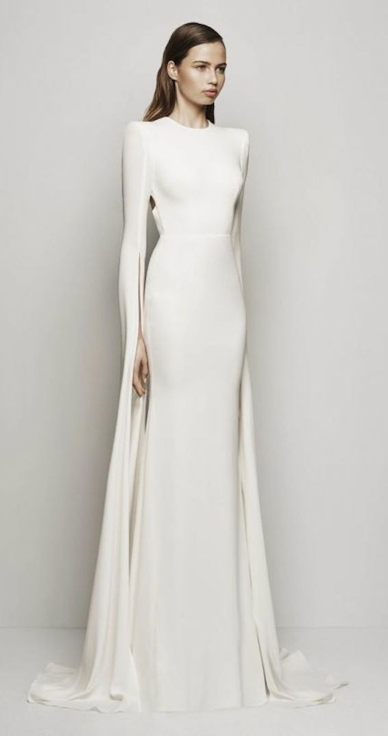 Minimalistic Wedding Dress