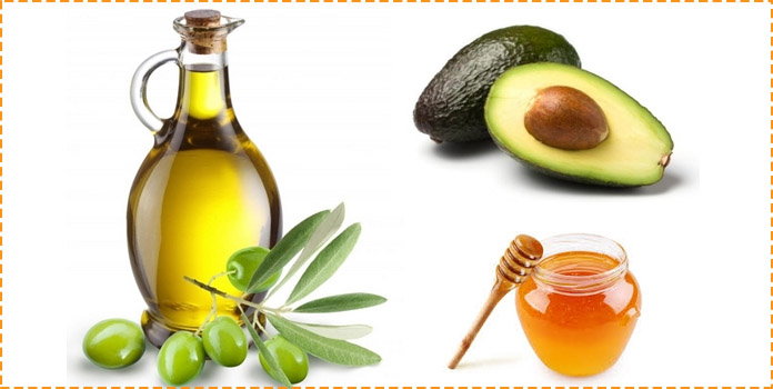 Olive Oil, Avocado, and Honey Hair Mask