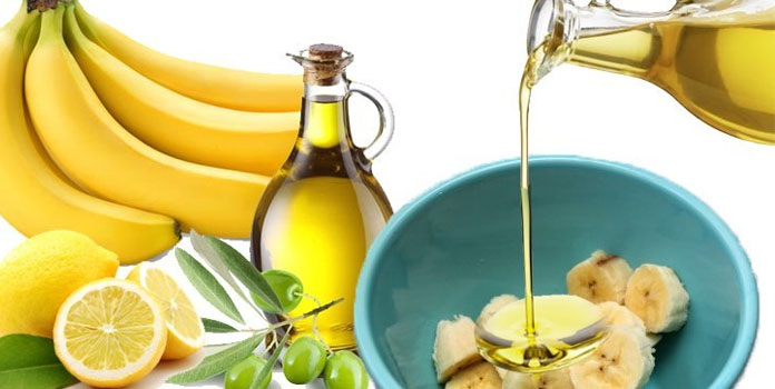 Olive Oil and Banana Hair Mask
