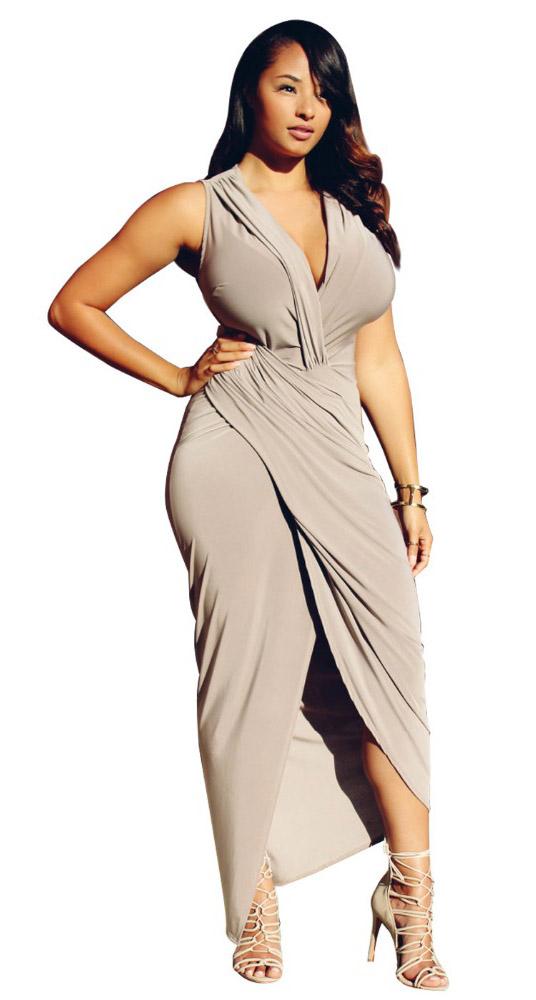 Sleeveless Asymmetrical Party Dress