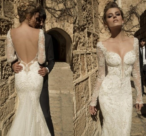 Spanish Inspired Wedding Dress