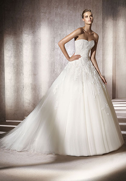 Tulle Bridal Gown