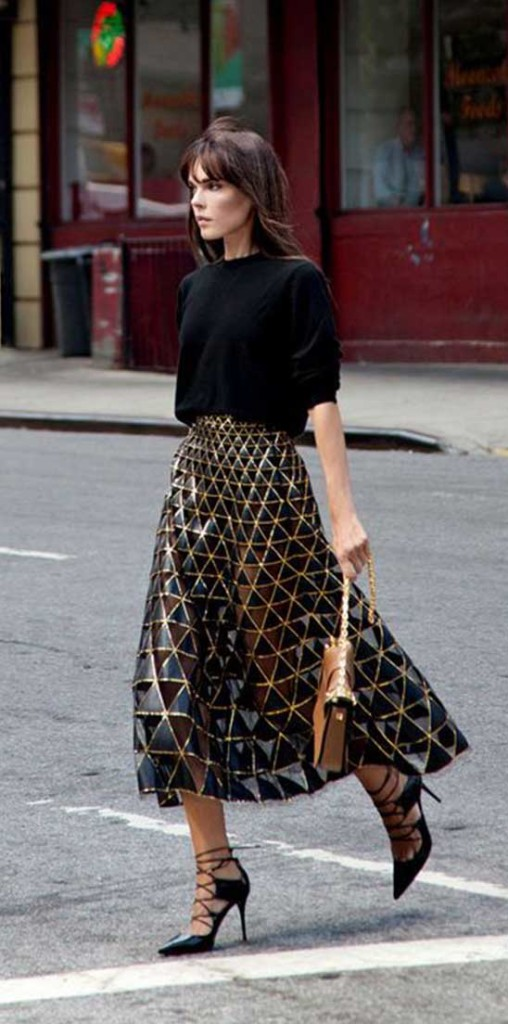 Tulle Skirts with Traditional Top