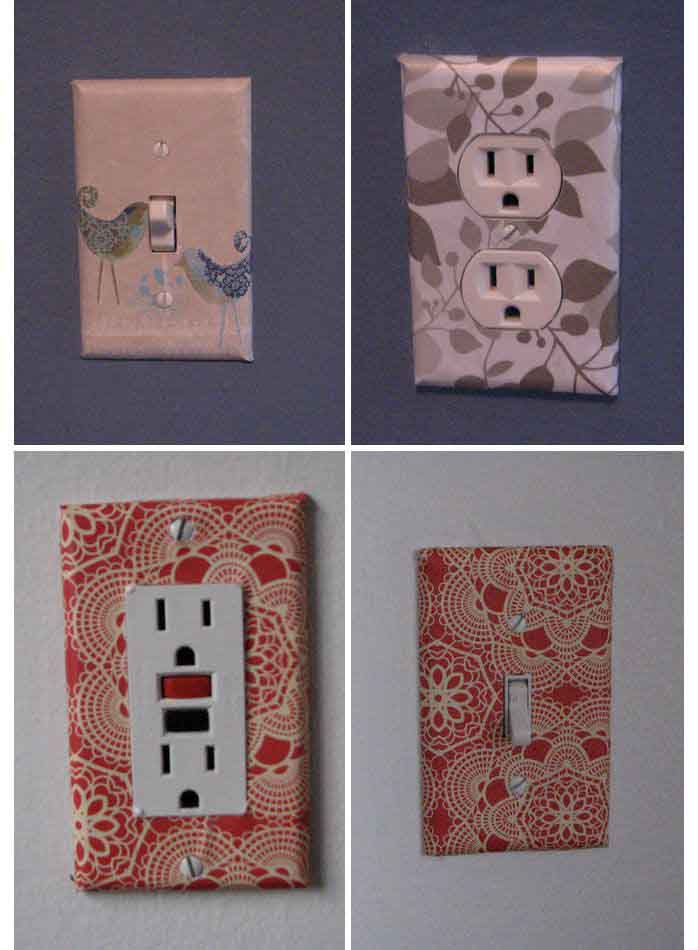 Wallpaper Covered Sockets