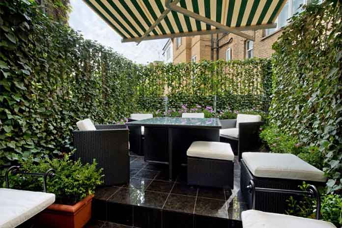 Dining Enabled Rooftop Garden