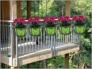 Glori pot hoders for indoor plants