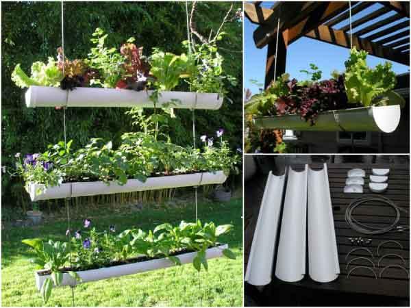 Hanging Pipe Gardens
