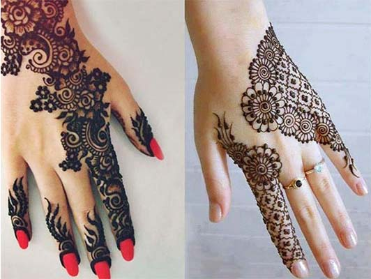 Mehndi Designs For One Hands : 25 indian mehndi designs that are pure inspiration livinghours