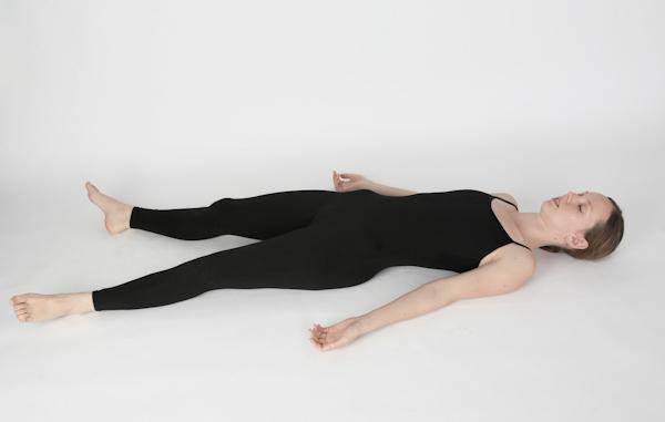 Lying Flat Pose or Shavasana