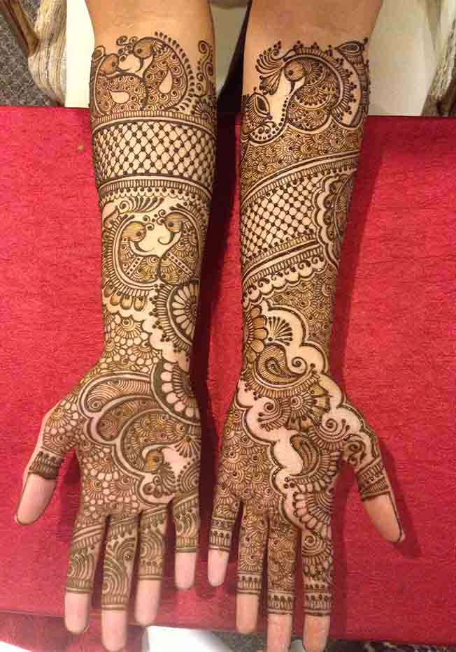 The Best Part Of This Indian Henna Design Is That It Can Be Easily Incorporated With Various Other Kinds Motifs And