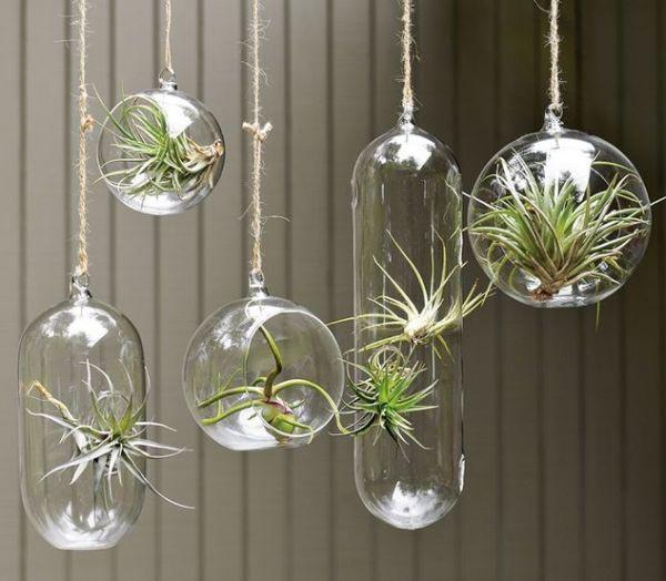 Pyrex Glass Planters